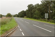 NT6226 : A68 near Lilliardsedge Holiday Park and Golf Course by Mark Anderson
