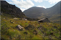 NG9359 : Looking towards Liathach from the path to Coire Mhic Fhearchair by Julian Paren