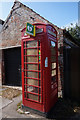 TA3623 : Former telephone kiosk on Main Road, Holmpton by Ian S