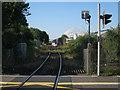 SU4211 : Eastern Docks line from Chapel Road by Hugh Venables