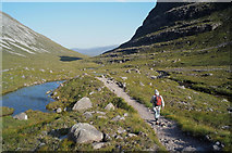 NG9459 : Walking the Coire Dubh Mòr path by Julian Paren
