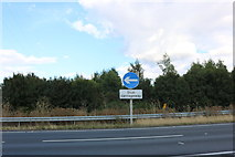 SU4644 : The A34 south of Whitchurch by David Howard