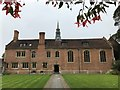 TL4459 : Asymmetrical architecture in Magdalene College, Cambridge by Richard Humphrey