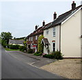 SY5998 : Row of four houses, Cattistock Road, Maiden Newton by Jaggery