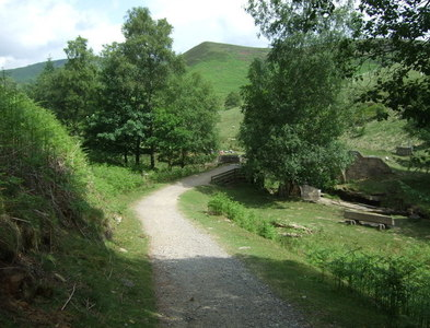 SK1695 : Track towards Packhorse Bridge by JThomas