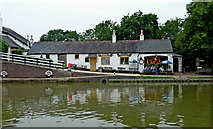 SP6989 : Bridge 61 public house at Foxton in Leicestershire by Roger  Kidd