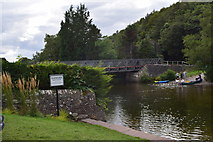 NY4724 : The River Eamont at Pooley bridge by steven ruffles