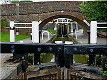 SP6989 : Foxton Bottom Lock in Leicestershire by Roger  Kidd
