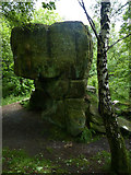 SK2563 : The Cat's Stone: Stanton Moor by Chris Gunns