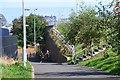 NT2172 : Cyclepath by Balgreen tram stop by Jim Barton