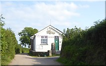 SS6138 : Loxhore village hall by David Smith