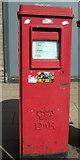 SK3487 : Elizabeth II postbox on Upper Hanover Street, Sheffield by JThomas