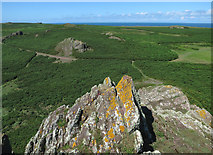 SM7304 : View from Spy Rock by Hugh Venables