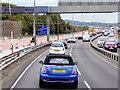 SP0189 : Southbound M5 near West Bromwich by David Dixon