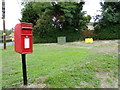 TL9028 : Rose Green Postbox by Geographer