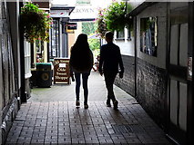 SJ6552 : Crown Mews, Nantwich by Brian Robert Marshall