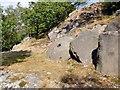 SK2773 : Abandoned millstone below Gardom's Edge by Graham Hogg