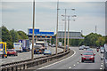 TQ0378 : Slough District : M4 Motorway by Lewis Clarke