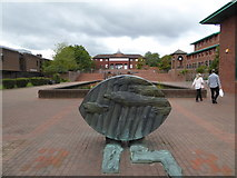 SJ6909 : Public art in Telford Civic Centre by Jeremy Bolwell