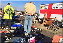 TA0729 : Hull car boot sale, Walton Street by Paul Harrop