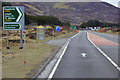 NN6382 : Bus Stop on the A9 near Dalwhinnie by David Dixon