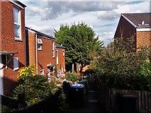 TQ1686 : Rowan Close, off Elms Lane, Sudbury by Chris Brown