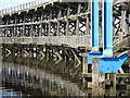 NZ2362 : Dunston Staiths - detail (5) by Mike Quinn