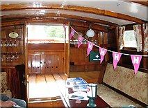 TG3724 : The Wherry Yacht 'Norada' - the saloon by Evelyn Simak