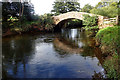 SD0798 : Holme Bridge across the River Irt by Mick Garratt