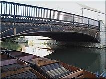 TL4458 : Magdalene Bridge, Cambridge by David Hallam-Jones