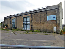 TM2532 : Converted goods shed, Harwich Town by Robin Webster