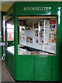 TL8928 : Shop at Chappel & Wakes Colne Railway Station by Adrian Cable
