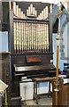 TF1668 : Organ, St Margaret's church, Bucknall by Julian P Guffogg