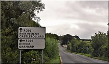 N4072 : R395 approaching junction with R396 by N Chadwick
