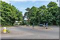 TQ2360 : Drift Bridge roundabout by Ian Capper