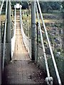 NY9027 : Pathway over Wynch Bridge (1970) by Stanley Howe