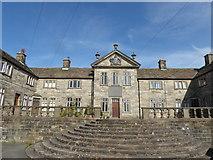 SD6838 : Shireburns Almshouses in Hurst Green by Marathon