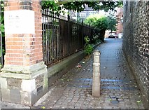 TG2309 : St Clements Alley - off Colegate by Evelyn Simak