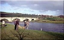 SE0361 : Burnsall beside the Wharfe by Martin Richard Phelan
