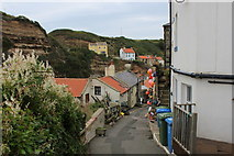 NZ7818 : Beckside, Staithes by Chris Heaton
