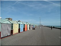 TQ2704 : Hove, beach huts by Mike Faherty