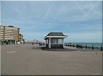 TQ2804 : Hove, shelter by Mike Faherty