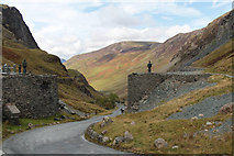 NY2213 : The Honister Pass at the Slate Mine Visitor Centre  by Kate Jewell