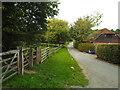 TQ5143 : Minor road near Penshurst by Malc McDonald