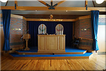 TA0130 : The Bimah in Hull Reform Synagogue by Ian S