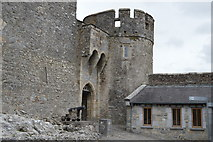 S0524 : Tower and portcullis, Cahir Castle by N Chadwick