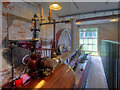 SJ8383 : Quarry Bank Mill, Horizontal Steam Engine by David Dixon