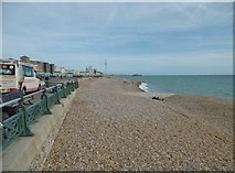 TQ2804 : Hove, beach & groyne by Mike Faherty
