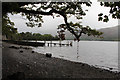 NY2620 : Barrow Bay landing stage, Derwent Water by Kate Jewell