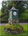 SD5384 : Millennium clock, Endmoor by Ian Taylor